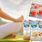El Yoga y las Bebidas Vegetales.
