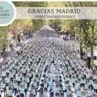 5ª edición de Free Yoga by Oysho Madrid con sol y paz.