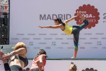 Clase Free Yoga Madrid