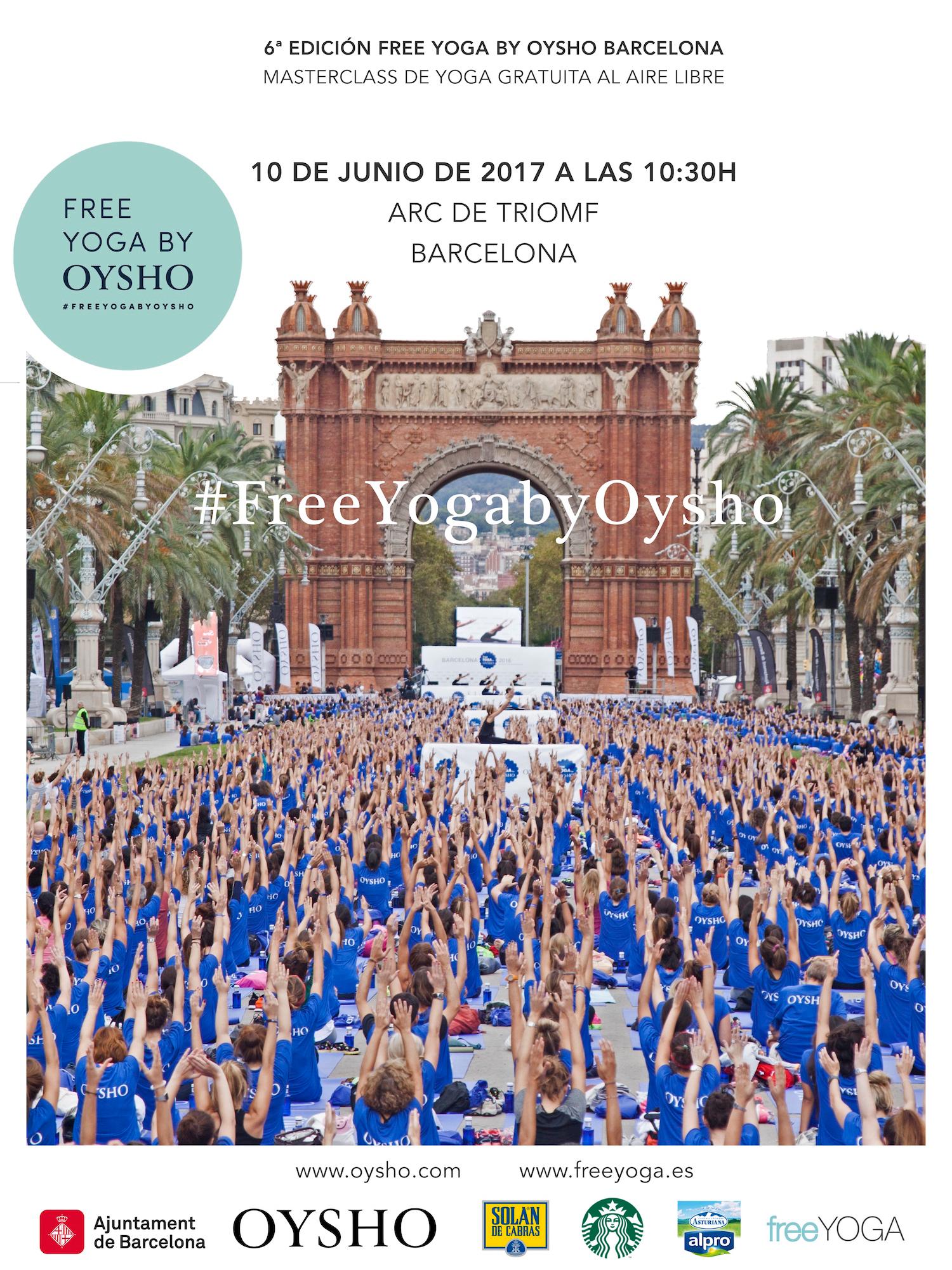 poster Free Yoga Masterclass by Oysho
