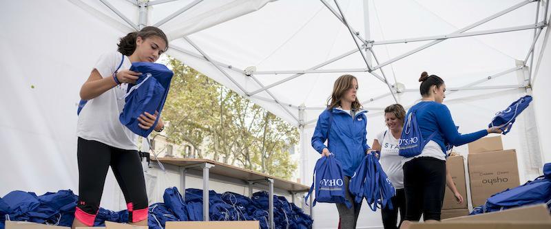 Freeyoga Barcelona 2016. Voluntarios