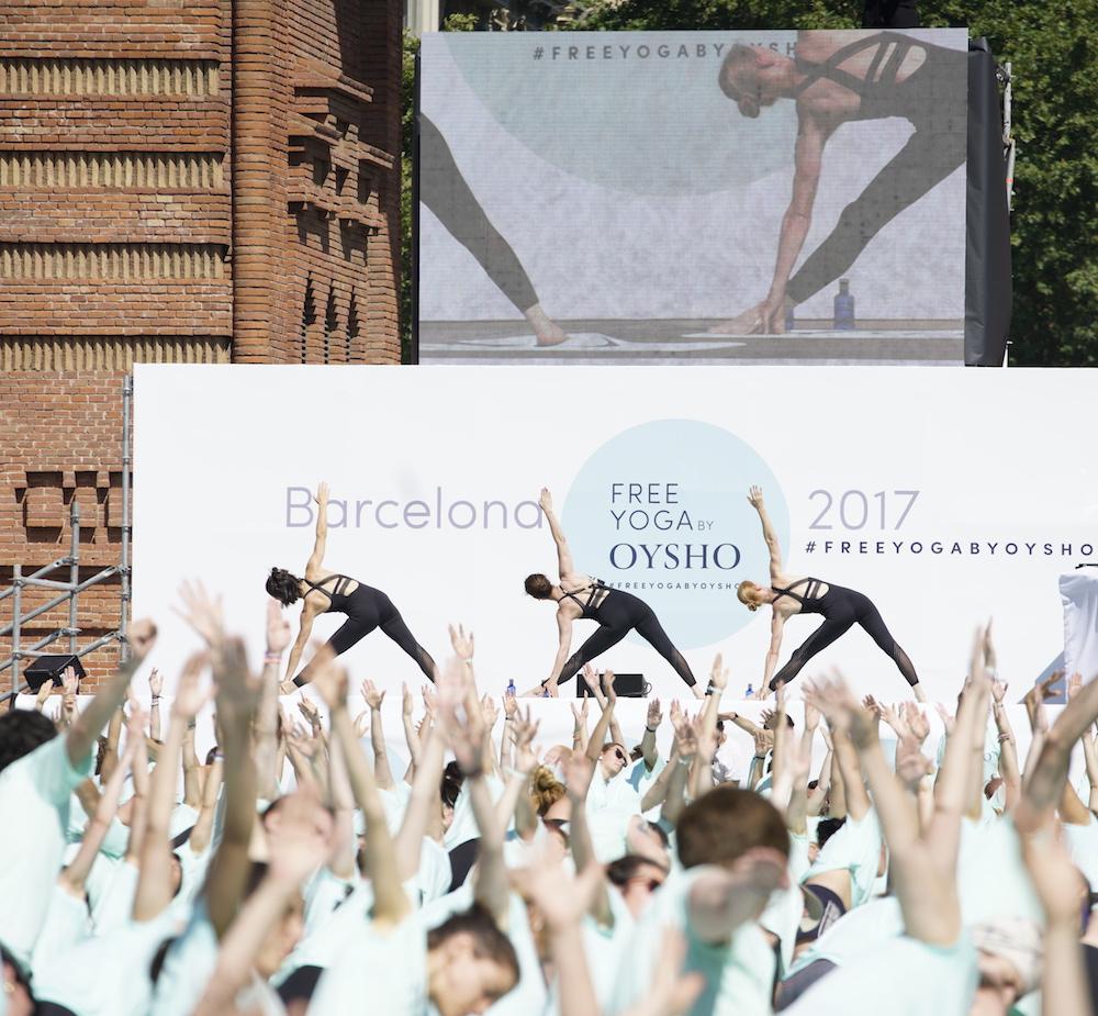 Vídeo del 6º Free Yoga by Oysho en Barcelona 5ae73e2fdb55
