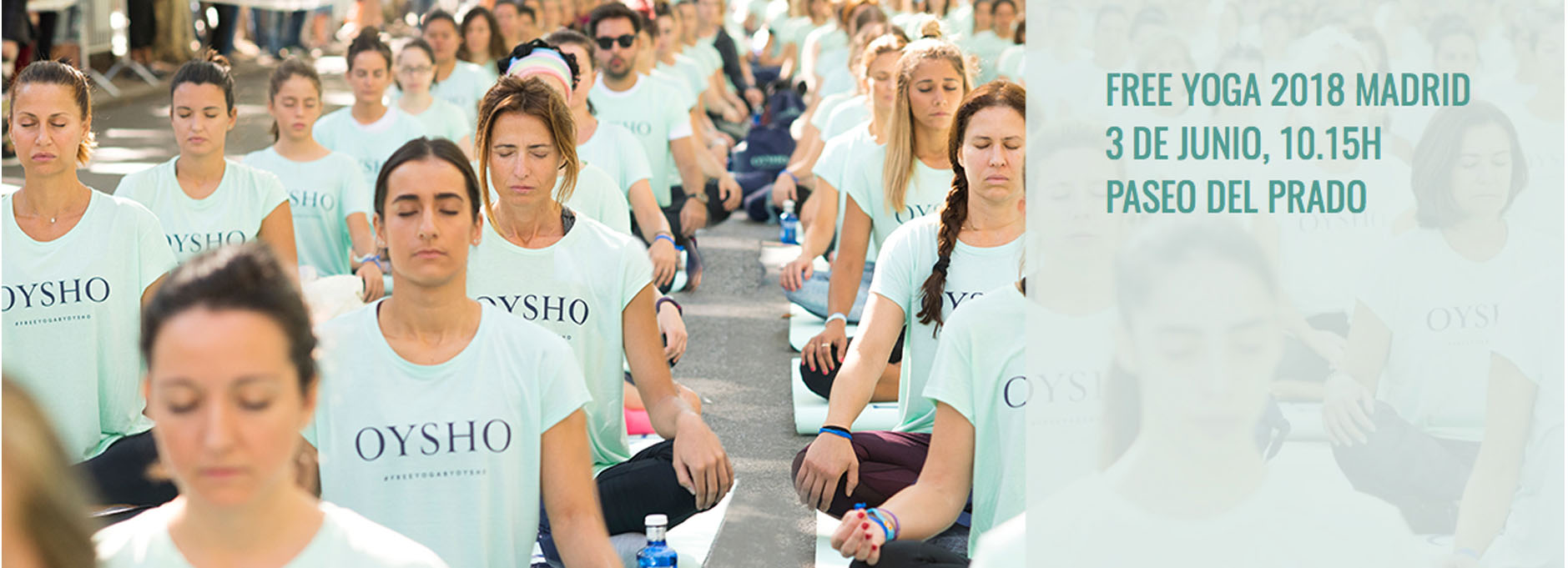free yoga by oysho madrid
