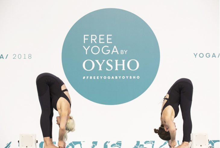 Free Yoga by Oysho se traslada a un museo en su última edición en Barcelona 5e5cfed45899